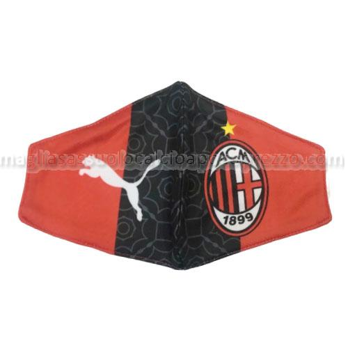 face masks ac milan rosso-nero 2020-21