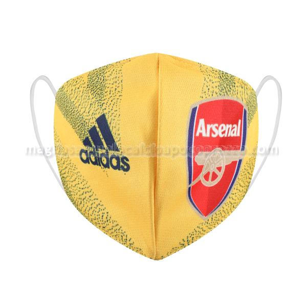 face masks arsenal seconda 2020