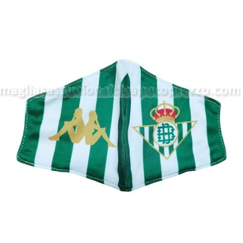 face masks real betis verde-bianco 2020-21