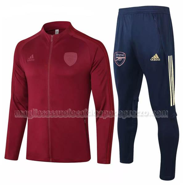 giacca arsenal rosso 2020