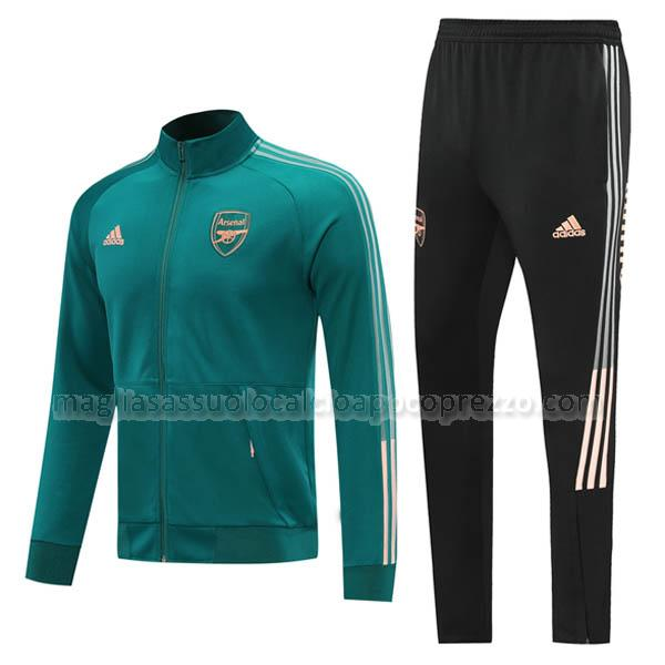 giacca arsenal verde 2020-21