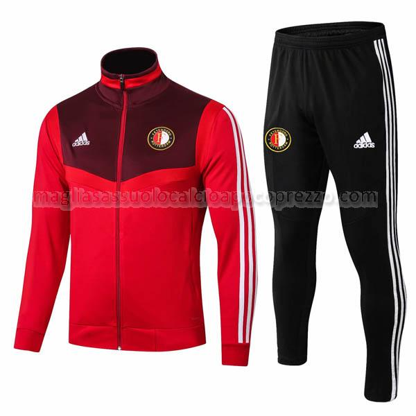 giacca feyenoord rosso 2019-2020