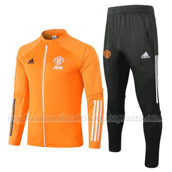 giacca manchester united arancia 2020-21